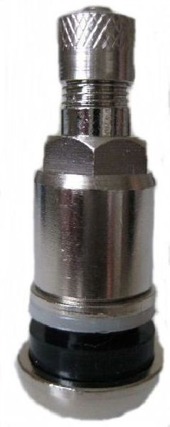 Ventil TR 416 S Messing verchromt, NEW, demont.
