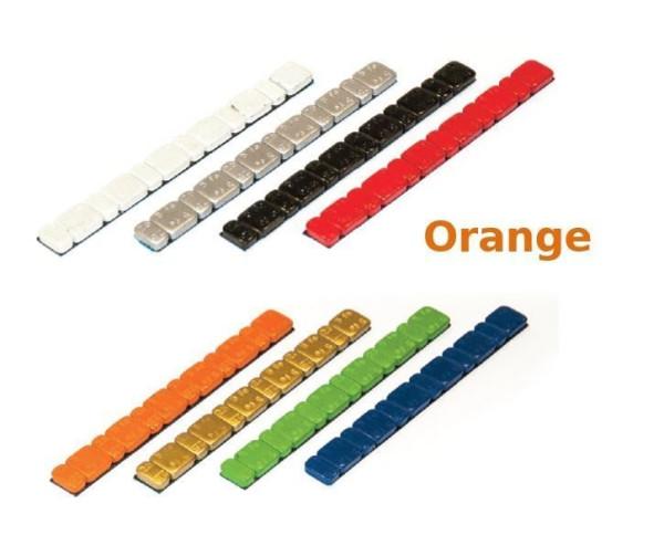 Klebegewicht Stahl 45 g farbig V3030 Orang