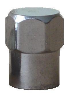 Ventilkappe VG 8 Sechskant Chrom