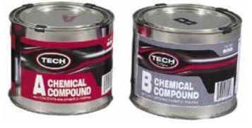 2-Komponenten-Gummi A & B Compound 2 x 0,5 kg