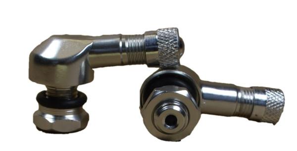 Motorradeckventil Leichtmetall-Felge 8,5 mm,silber