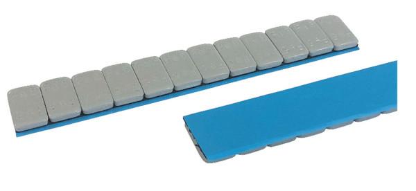 Klebegewicht Stahl 60 g grau 12x5 FL