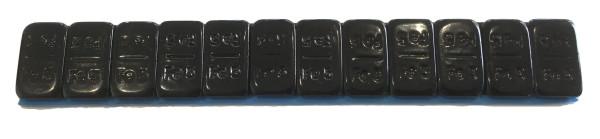Klebegewicht Stahl 60 g schwarz 12x5 V2800FL
