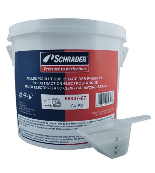 Auswuchtpulver Schrader 66887 7,5 kg