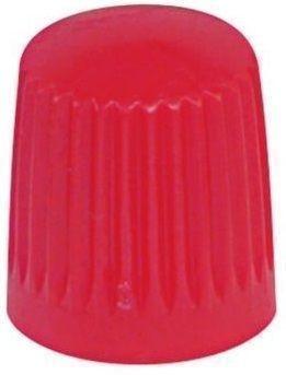 Ventilkappe Kunststoff Standard rot