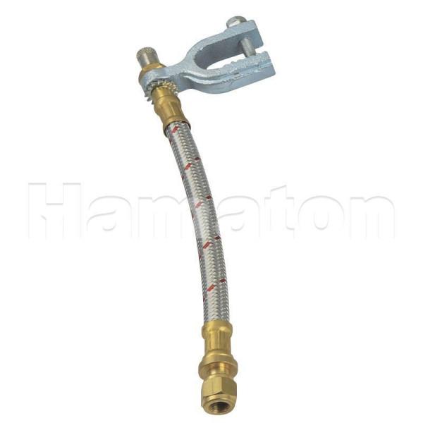 LKW Ventilverlängerung Metallummantelt 170 mm