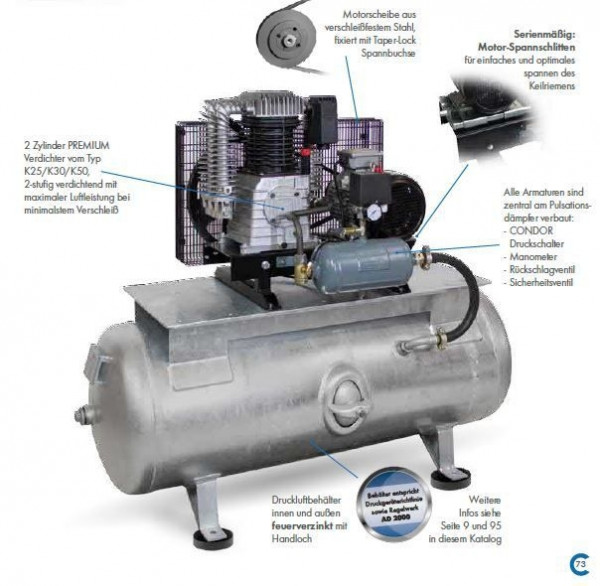 Premium Kompressor CairMaxi 580-15/250