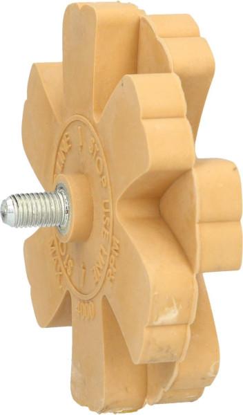 Folienradierer m. Lamellen 8 mm Gew.,Durchm. 90 mm