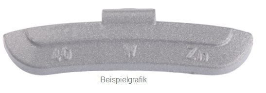 Schlaggewicht 05 g Stahlfelge PVC ECO