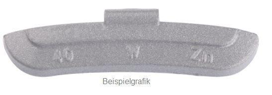 Schlaggewicht 40 g Stahlfelge PVC ECO