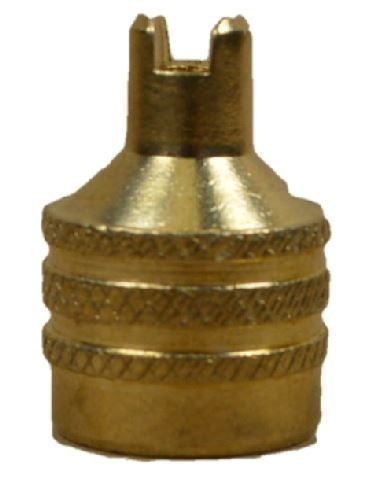 Schlüsselventilkappe VG 12 Messing