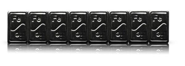 Klebegewichtrolle Stahl 5 kgTyp 355 sw.