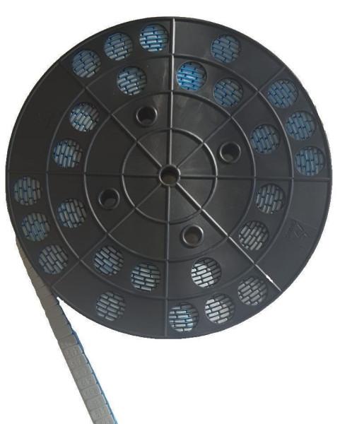 Klebegewichtrolle Stahl 6 kg fl. grau Blue Tape FL