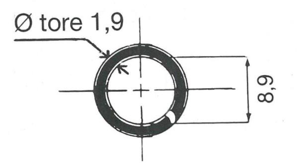 O-Ring f. LKW Metallventil 9,7 mm