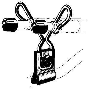 Befestigung für flexible Ventilverlängerung