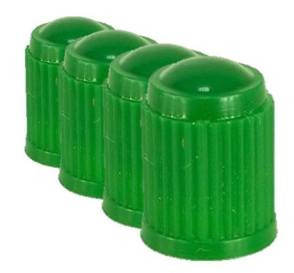 Ventilkappe Kunststoff Standard grün