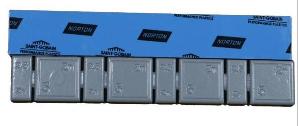 Klebegewicht Zink 30 g x-flach V2800