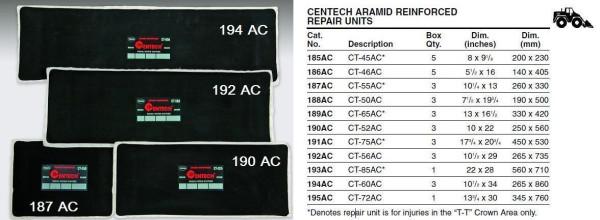 Radial Reparaturpflaster TECH 193AC CT-85AC