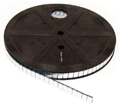 Klebegewichtrolle Stahl 6 kg fl. V3030