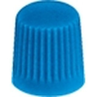 Ventilkappe Kunststoff Standard blau
