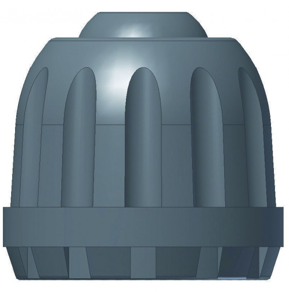 Ventilkappe Kunststoff schwarz mit Dichtung (1000)