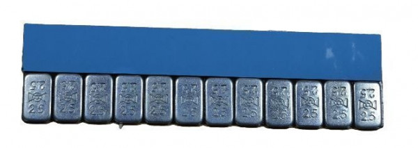 Klebegewicht Stahl 30 g x-flach V2800