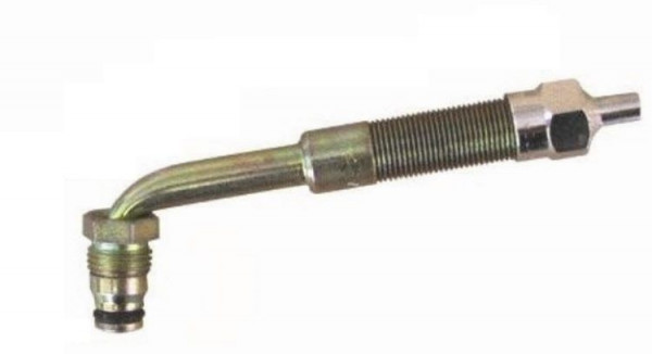 EM Metallventil Messing TRJ 650 gebogen