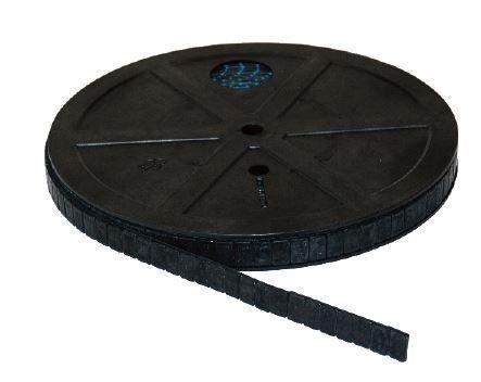 Klebegewichtrolle Stahl 6 kg fl. sw. FL