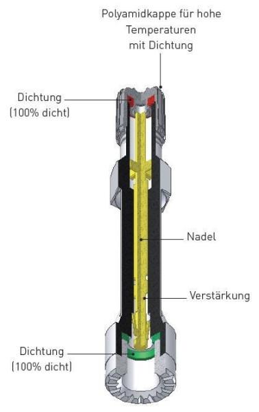 LKW Ventilverlängerung starr aus Kunststoff 170 mm